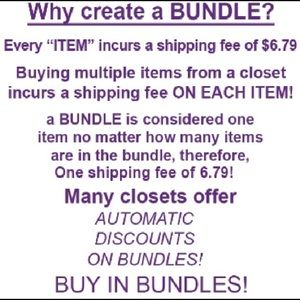Posh Hack...Bundle Bundle Bundle! 🛍 Get Discounts